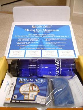 Brain Age 2 press kit