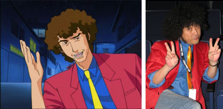 Anime vs. real